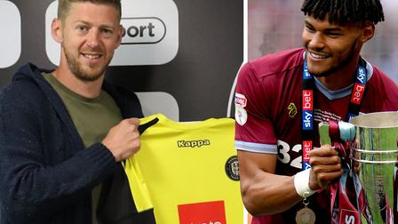 Jon Stead has joined a new club this summer while Tyrone Mings could also be on the move. Picture: H
