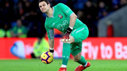 Alex McCarthy is reported to be a Liverpool target. Picture: PA