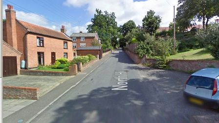 The incident took place on North Hill in Woodbridge Picture: GOOGLE MAPS