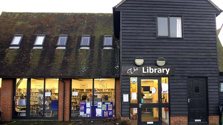 Clare library, which will be closed for one week for refurbishments Picture: Tudor Morgan-Owen