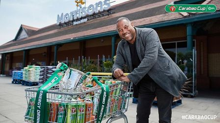 John Barnes will be making the draw for the first round of the Carabao Cup this Thursday. Picture: E