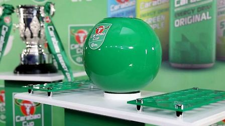 The Carabao Cup draw will be made on Thursday night. Picture: CARABAO