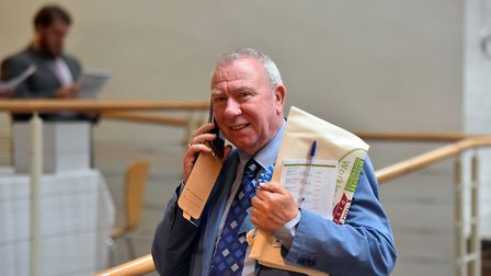 Peter Beer said the committee was not convinced by the proposals. Picture: JAMIE HONEYWOOD