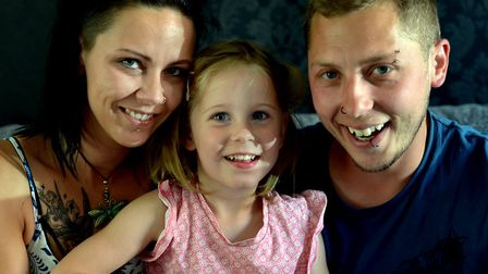 Indie-Rose Clarry has a severe form of epilepsy and parents Anthony and Tannine from Clare are campa