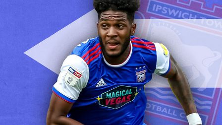 Ellis Harrison has left Ipswich Town to sign for Portsmouth. Picture: ARCHANT