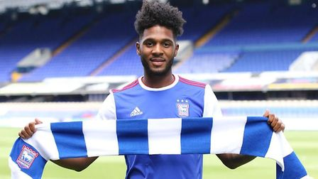 Ipswich Town signed Ellis Harrison from Bristol Rovers last summer. Picture: ITFC