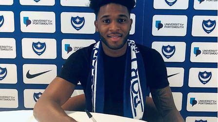 Ellis Harrison has joined Portsmouth. Picture: PORTSMOUTHFC