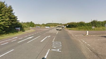 A motorcyclist in his 50s was airlifted to hospital with life-changing injuries after he was involve