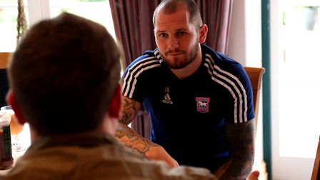 James Norwood is confident he will be a success at Ipswich Town. Picture: ROSS HALLS
