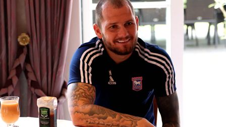 James Norwood has settled quickly at Ipswich Town. Picture: ROSS HALLS