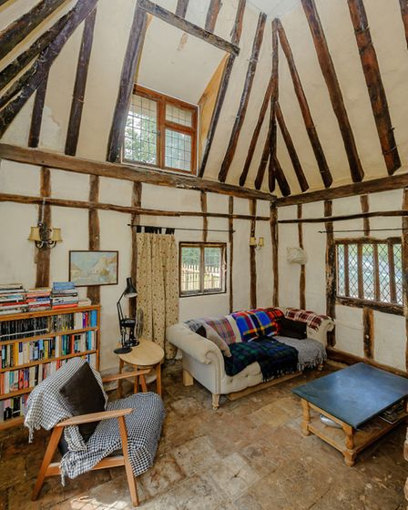 Stackwood Cottage has beautiful vaulted ceilings. Picture CHRIS POPE