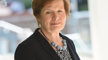Conservative cabinet member for Highways Mary Evans. Picture: GREGG BROWN
