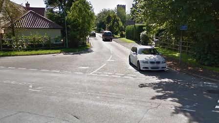 Some people in Westerfield say its roads are being used at rat-runs. Picture; GOOGLE MAPS
