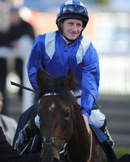 Paul Hanagan will be on the favourite Ventura Rebel at Newbury. Picture: PA SPORT