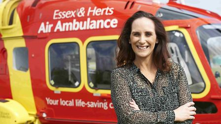 Jane Gurney, CEO of Essex and Herts Air Ambulance Picture: CLARE BANKS