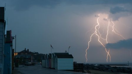 Thunderstorms are predicted for Suffolk and Essex on Saturday morning Picture: ALEX MCCARTHY