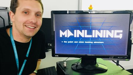 Suffolk New College lecturer Sam Read has launched a new spy game called Mainlining Picture: SUFFOLK
