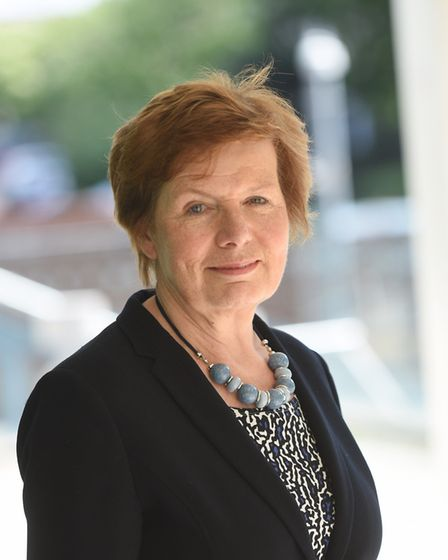 Highways cabinet member Mary Evans. Picture: GREGG BROWN