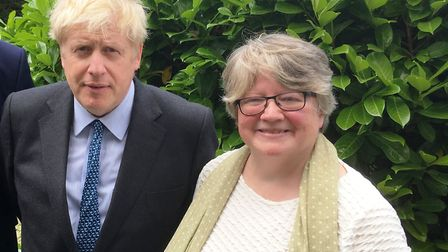 Dr Therese Coffey was rewarded by new Prime Minister Boris Johnson after she supported him in his le