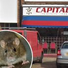 Capital Chinese Takeaway, in Lowestoft, was handed a zero food hygiene rating after mouse droppings