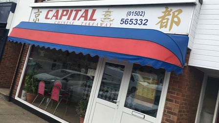 Capital Chinese Takeaway, in Westwood Avenue, Lowestoft, was handed a zero food hygiene rating by Ea