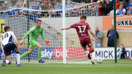 Luke Garbutt hits the side netting at Cambridge Picture Pagepix