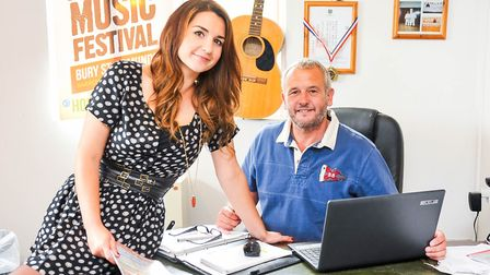 Glen Moulds accepted a challenge from daughter Jade to start a festival Picture: ARCHANT