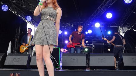 Lost Lungs perform at the Homegrown Music Festival in 2014 Picture: ARCHANT
