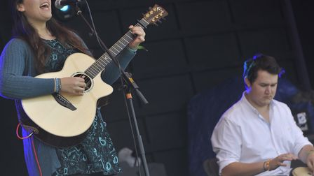 The festival promoted new music. Fern Teather perform in 2014 Picture: ARCHANT