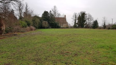 A full planning application has been made for new properties at Westleton's vicarage Picture: RACHE
