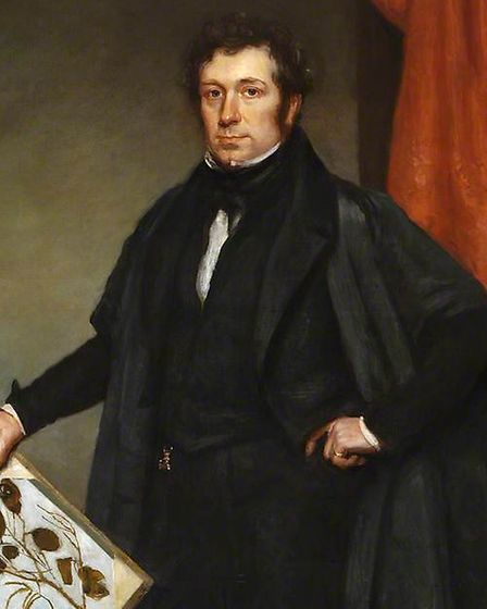 John Stevens Henslow Picture: COLCHESTER AND IPSWICH MUSEUMS