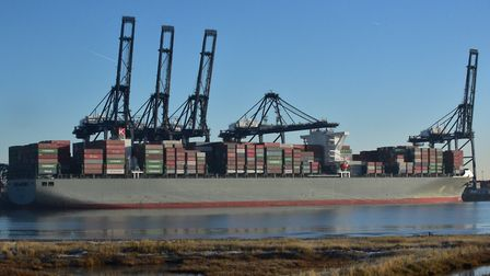 The Port of Felixstowe is one of Suffolk's key businesses. Picture: SARAH LUCY BROWN