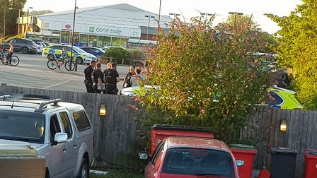 Two men have been arrested following a disturbance in Manningtree Picture: JIM ENSOM