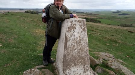 Northumbria is another of Michelle's favourite walking spots Picture: MICHELLE ARMOUR