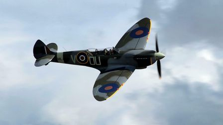 A Spitfire will perform a flypast at ElmsFest on Sunday, September 1 Picture: ARCHANT