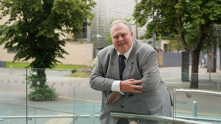 JLAG chairman Richard Smith Picture: SUFFOLK COUNTY COUNCIL