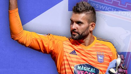Bartosz Bialkowski has left Ipswich Town after five years at the club. Picture: ARCHANT