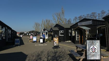 The shopping village at Stonham Barns Picture: SARAH LUCY BROWN