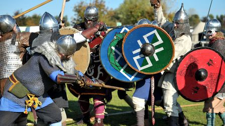 The site hosts many events such as this Saxon and Viking festival but has been told it must submit a