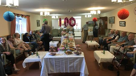 Family and friends were asked to make donations to Ipswich Hospital's Somersham Ward instead of givi