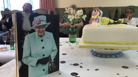 As part of her 100th birthday celebrations, Daisy was awarded a card from the Queen Picture: VICTORI