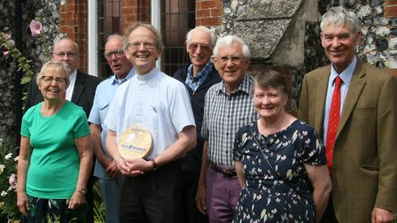 St John's Methodist Church in Sudbury is celebrating after receiving a silver Eco Award from A Rocha