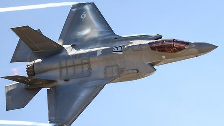 Two squadrons of F-35s will be housed at RAF Lakenheath Picture: USAF/AIRMAN ALEXANDER COOK