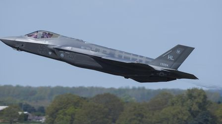 The F-35s will be housed at RAF Lakenheath from November 2021 Picture: WEST SUFFOLK COUNCIL