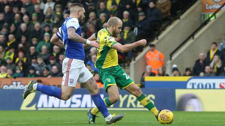 Luke Chambers believes he would have tackled Teemu Pukki had he not been carrying a foot injury at C