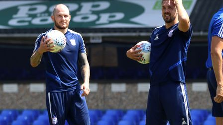 James Norwood and Luke Chambers have hit it off after the former's arrival at Portman Road this summ