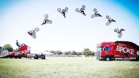 Festival of Wheels at Trinity Park mixes lots of extreme motor-vehicle entertainment with all the fu