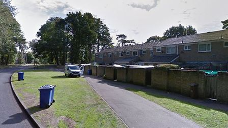 The burglary happened between July 20 and July 23 in College Heath Road, Mildenhall Picture: GOOGLE