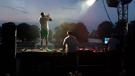 As the sun went down over the July Course, music fans watched Rudimental breaking the rules on stage