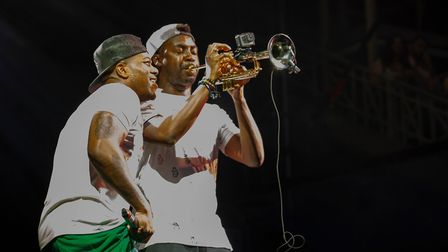 Rudimental brought their trumpet to Newmarket Picture: CHUFF MEDIA